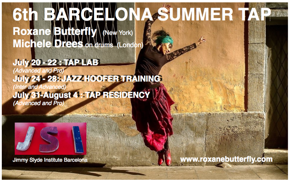 6th Barcelona Summer Tap Dance Intensive