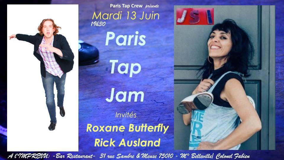 Paris Tap Crew @ Jolie Mome