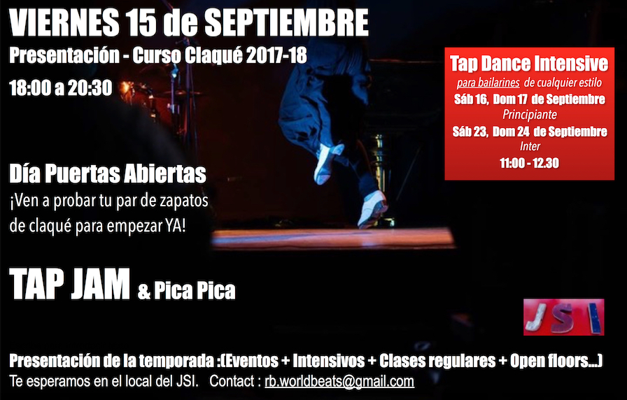 Open door et TAP intensifs de Septembre