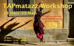 TAPmatazz March workshop