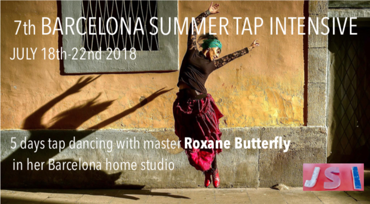 Barcelone Summer Tap Intensive with Roxane Butterfly