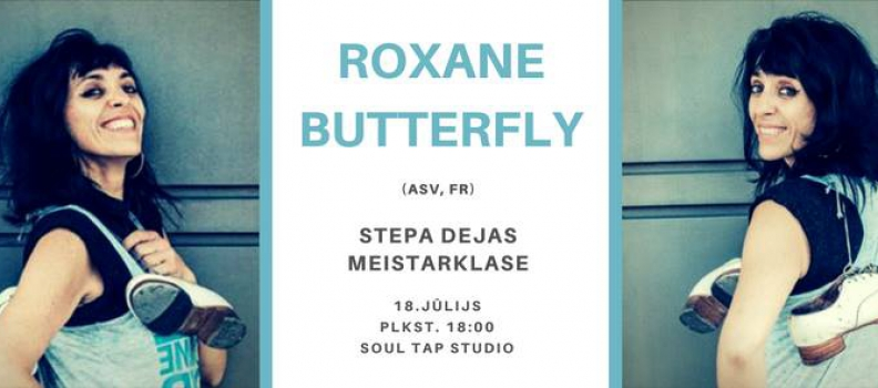 Roxane Butterfly teaching and performing in Riga