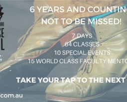 AUSTRALIAN TAP DANCE FESTIVAL Sept 30 – Oct 7