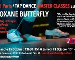 Stage de Tap Dance les 15 et 21 Octobre à Paris