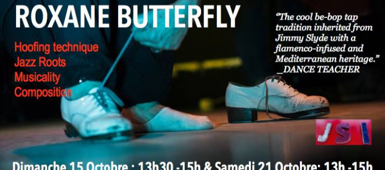 Stage de Tap Dance les 15 et 21 Octobre à Paris