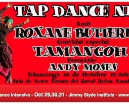 Barcelona Fall Tap Intensive Oct 29-30-31