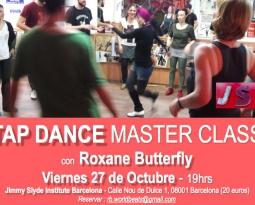 Master Class à JSI Barcelona avec Roxane le 27 Octobre