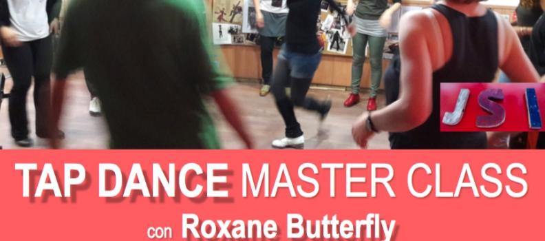 Master Class de claqué con Roxane Butterfly el 27 de Octubre