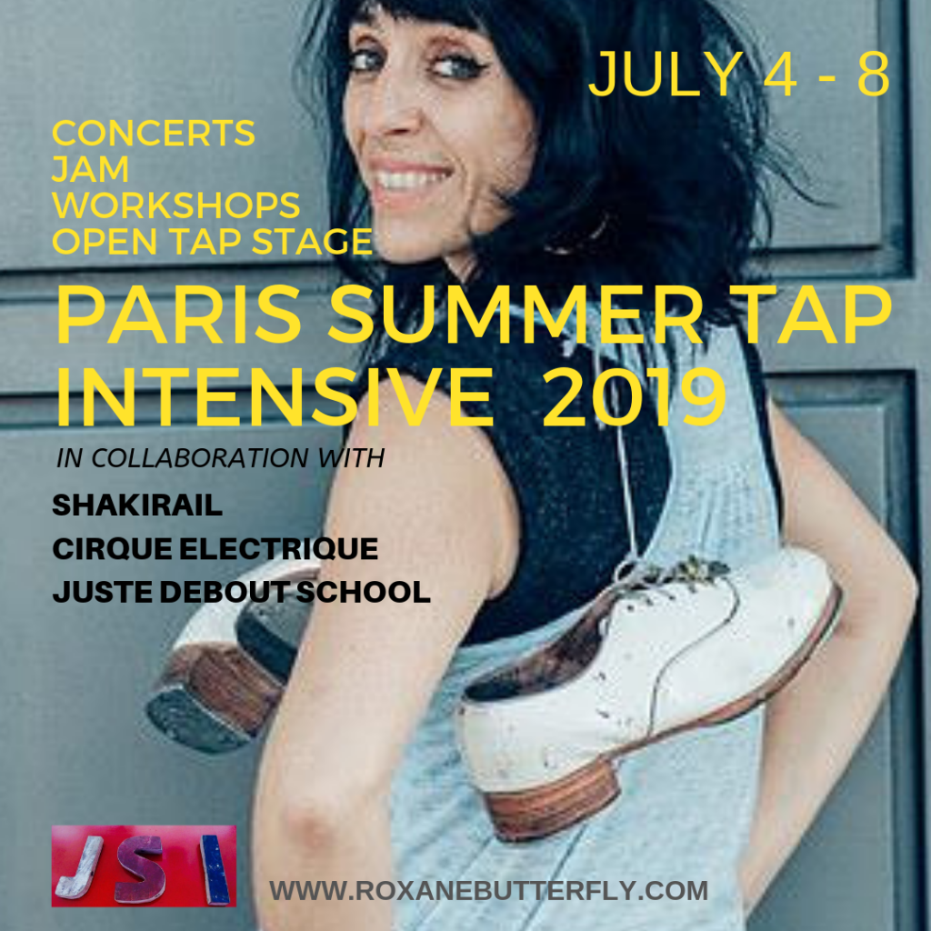 Summer Tap Dance Intensive in Paris this July